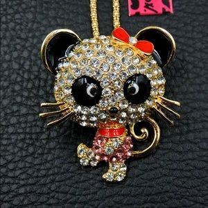 BETSEY JOHNSON~ Mousy Necklace